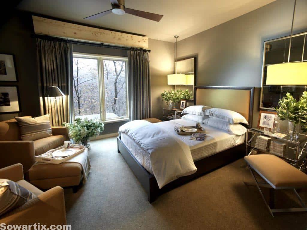صور ديكورات غرف نوم جميلة