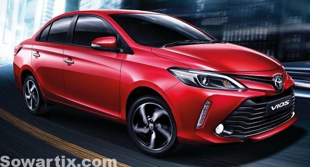 صور سيارات تويوتا Toyota Vios 2017