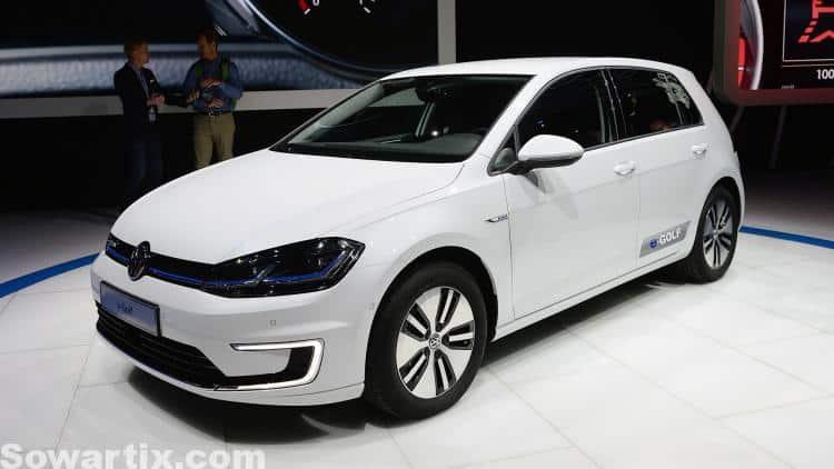 صور سيارات فولكس فاجن Volkswagen E-Golf