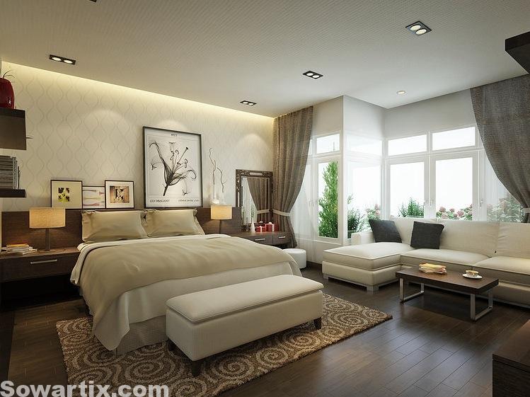 صور ديكورات غرف نوم متنوعة