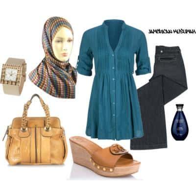 صور ملابس محجبات كاجوال جميلة جدا