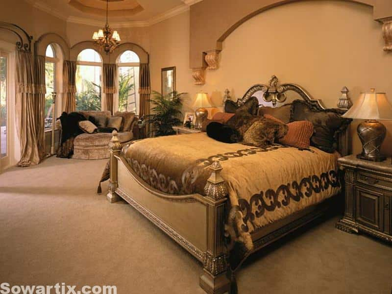 صور جميلة ديكورات غرف نوم