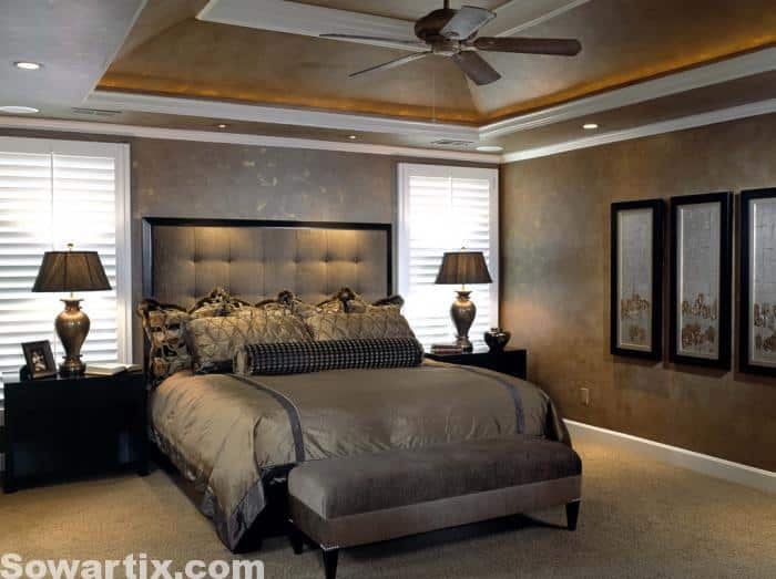 صور رائعة ديكورات غرف نوم