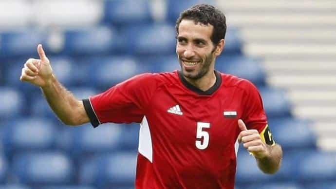صور محمد أبو تريكة فى أوليمبياد لندن