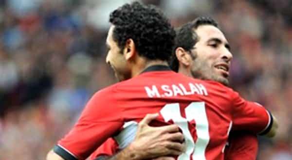صور محمد أبو تريكة مع محمد صلاح