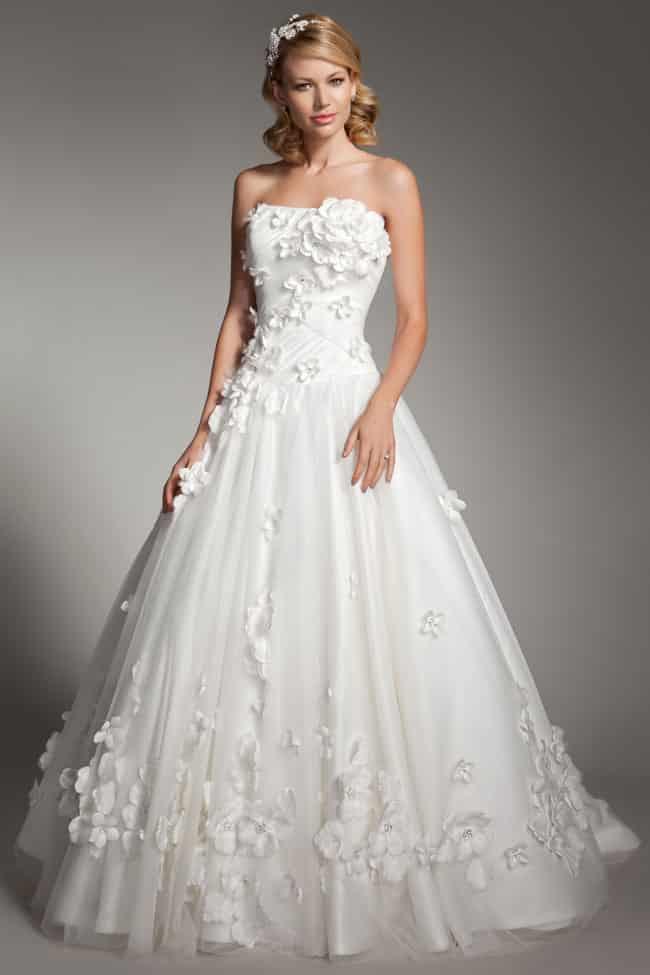 صور حلوه لفساتين زفاف
