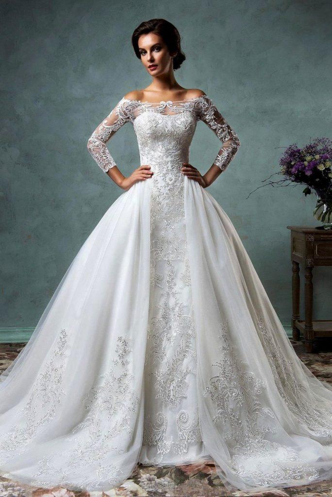 صور جميلة لفساتين زفاف