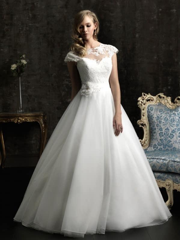 صور جديدة لفساتين زفاف