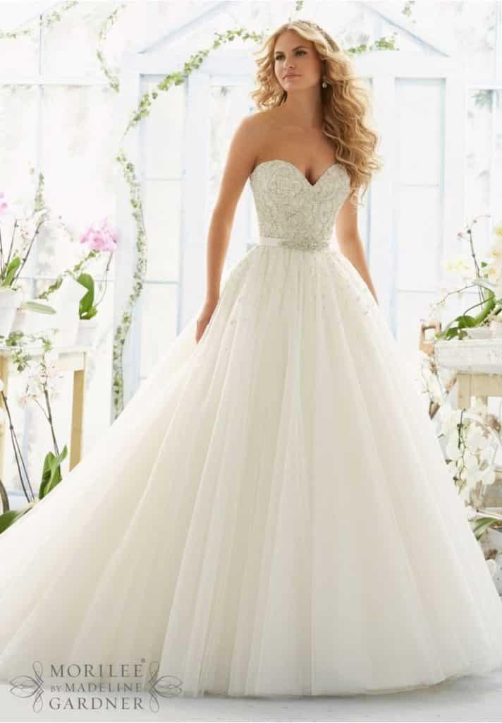 صور متنوعة لفساتين زفاف