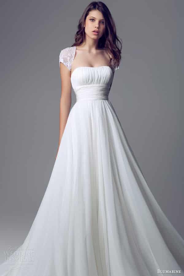 صور جامدة لفساتين زفاف