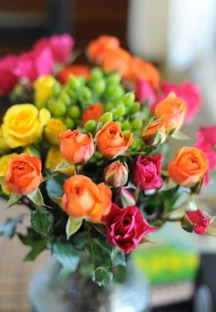 صور ورود ملونة للفيس بوك