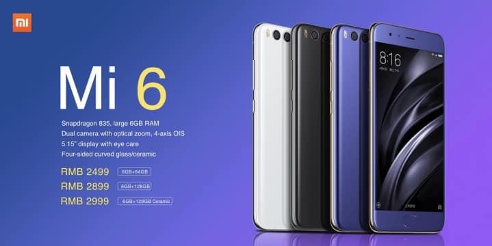 مواصفات شاومي مي سكس سي Xiaomi Mi 6c Specifications