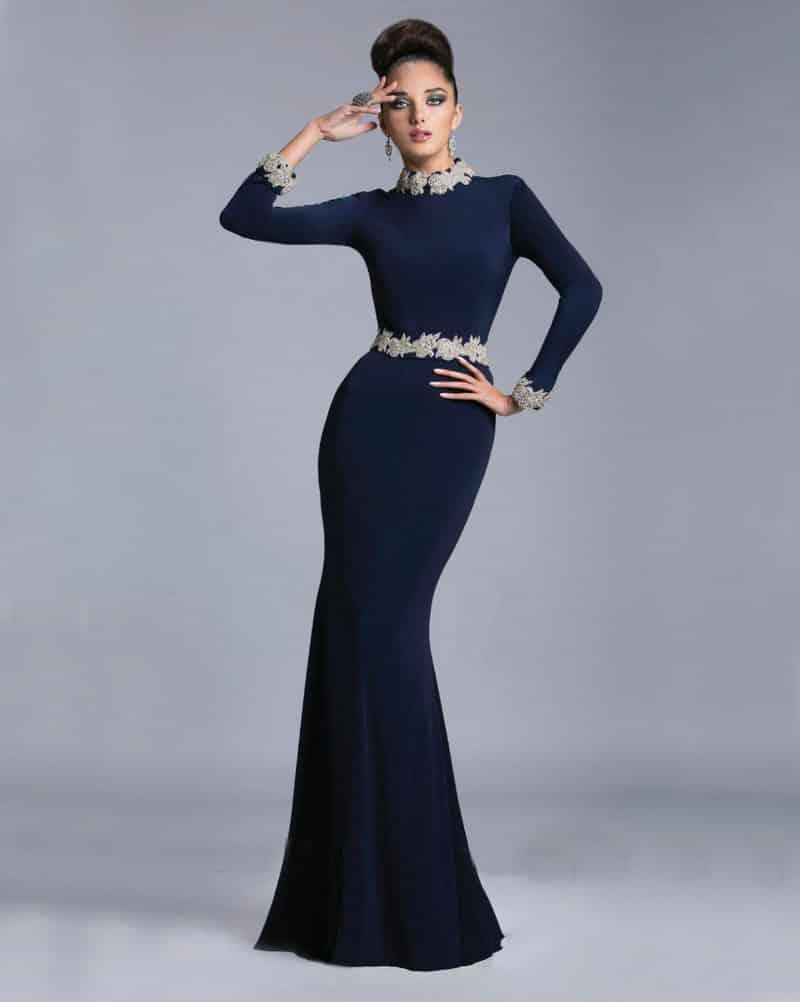 صور أجدد تصميمات لفساتين قطيفة للسهرة جديدة