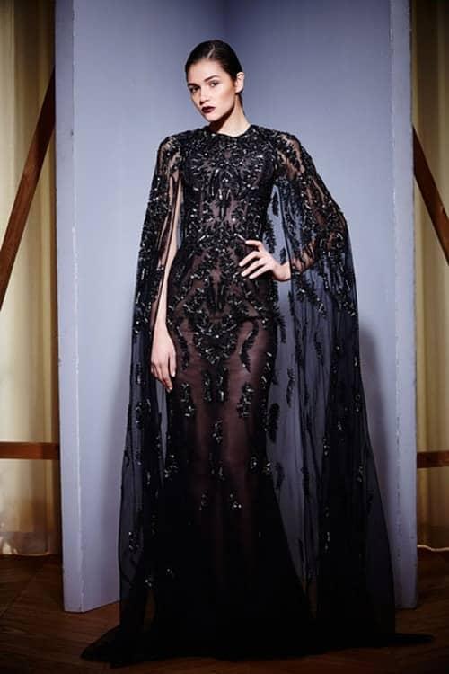 تصميمات فساتين سوارية سمراء اللون رائعة