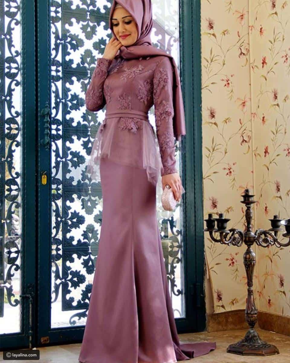 صور أزياء محجبات للسهرة جميلة جدا