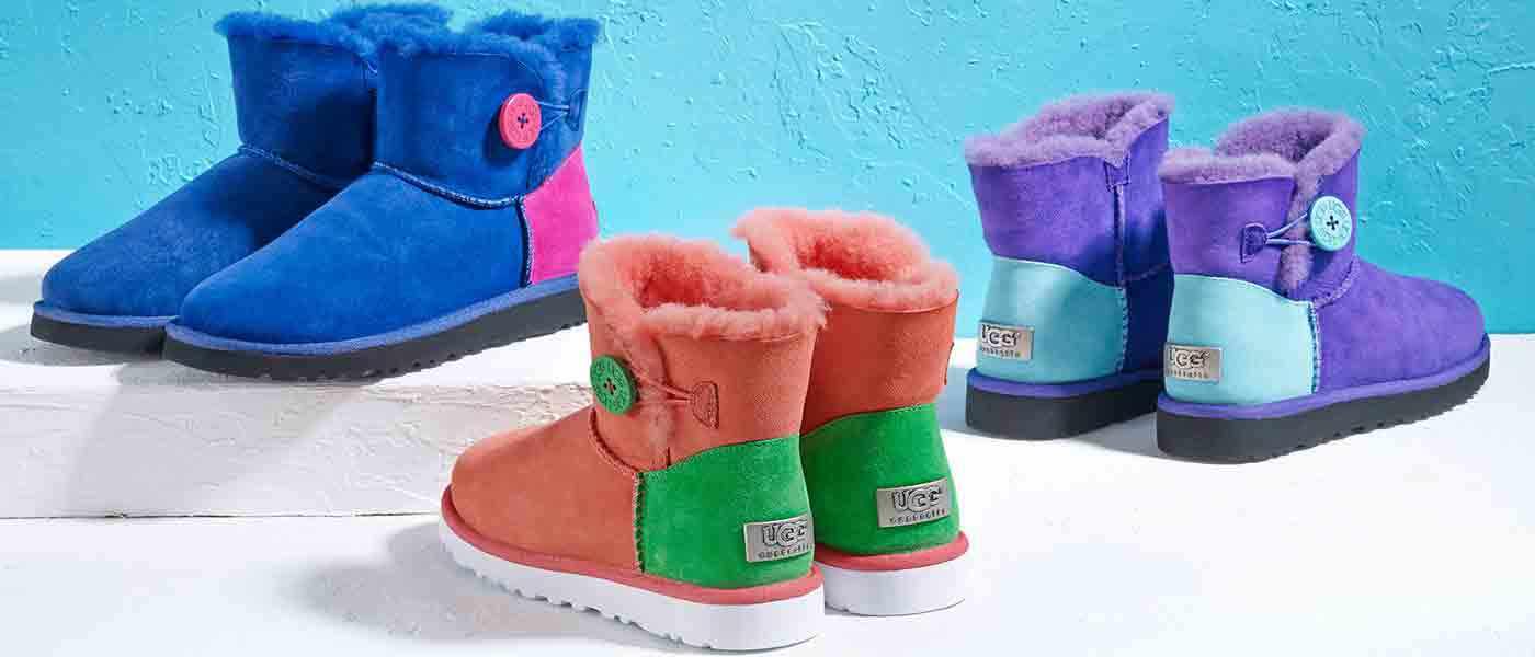 صور تصميمات أحذية الأطفال الشتاء جديدة
