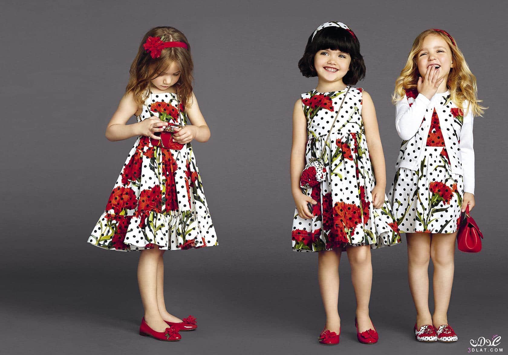 صور أحدث أزياء عيد الفطر للبنات متنوعة